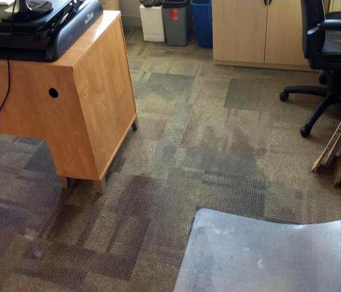 Commercial Water Damage In Santa Ana Before