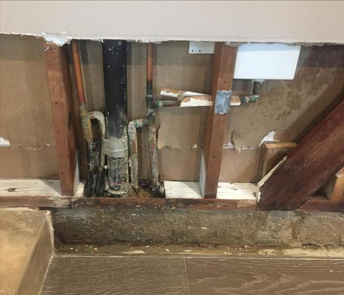 house pipe leak